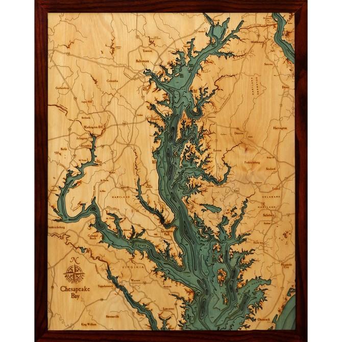chesapeake bay_below the boat