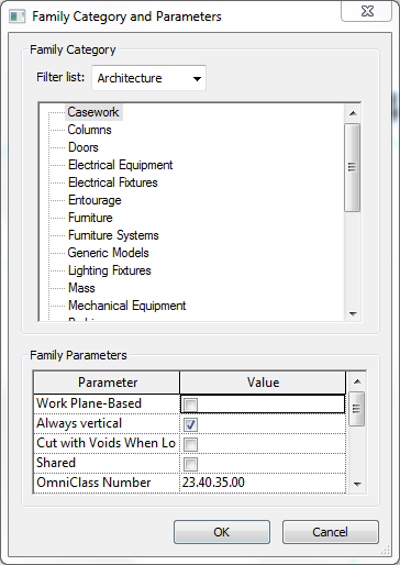 Changing_Family_Category_and_Parameters